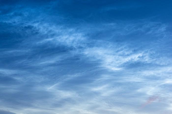 Noční svítící oblaka pohledem zjihu Ostravy - autor: Matěj Grék