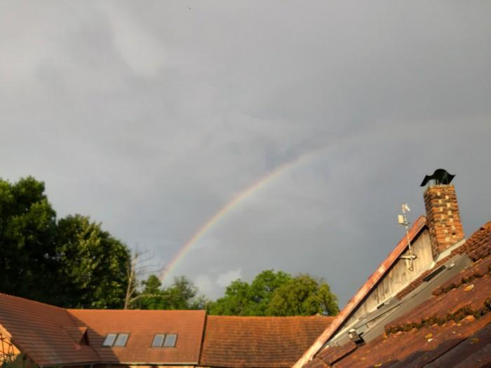 Duha po bouřce - autor: Jiří Kaňovský
