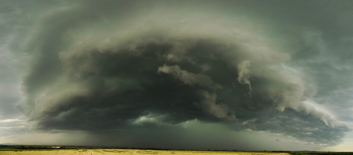 Shelf cloud - autor: Radim