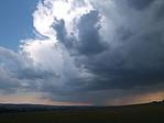 Rodící se bouře na západě - autor: Luboš Opalecký