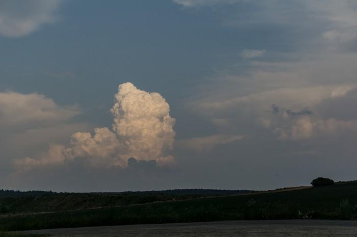 Slábnoucí konvekce na jihu - autor: Luboš Opalecký