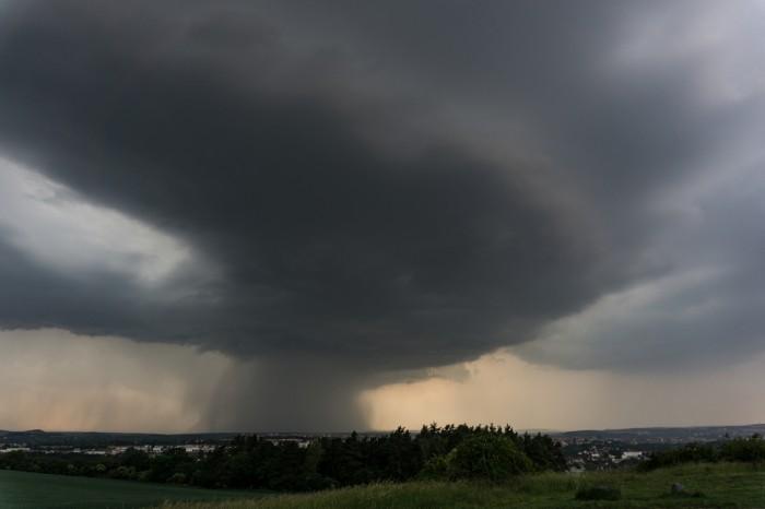 Silné bouřkové jádro 3 - autor: Luboš Opalecký