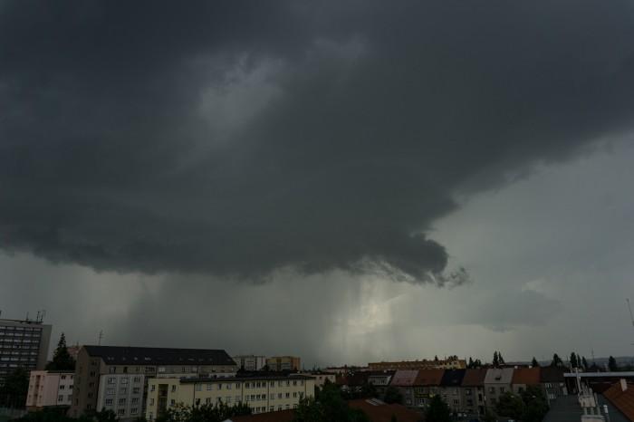 Jádro bouřky - autor: Luboš Opalecký