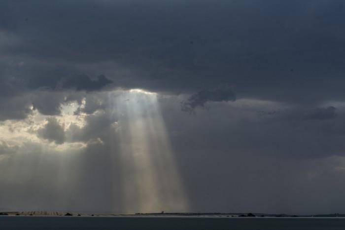 Základna vznikající bouřky - autor: Luboš Opalecký