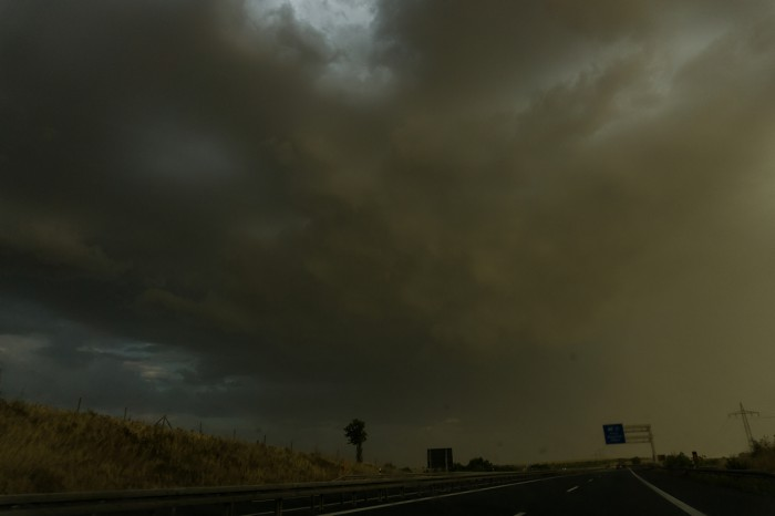 Večerní bouřky 1 - autor: Luboš Opalecký