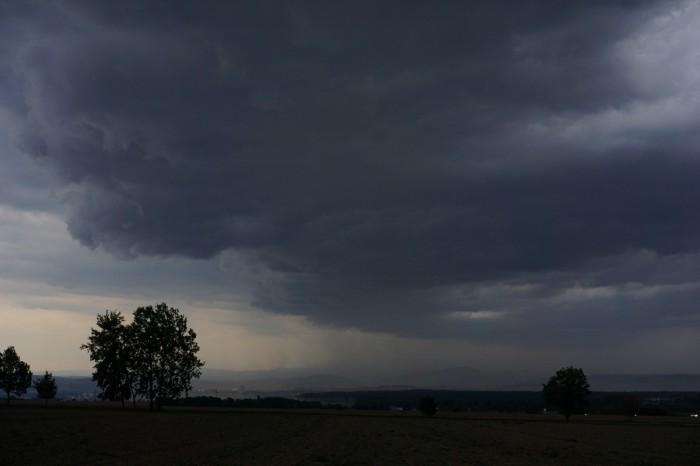 Pod čelem bouřky - autor: Luboš Opalecký