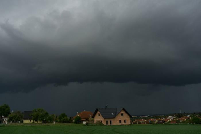 Před příchodem bouře 02 - autor: Luboš Opalecký