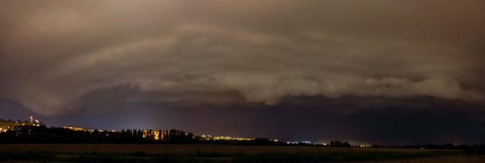 Panorama bouře - autor: Luboš Opalecký