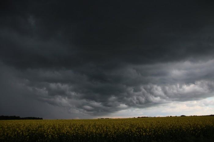 Čelo bouřky - autor: Luboš Opalecký