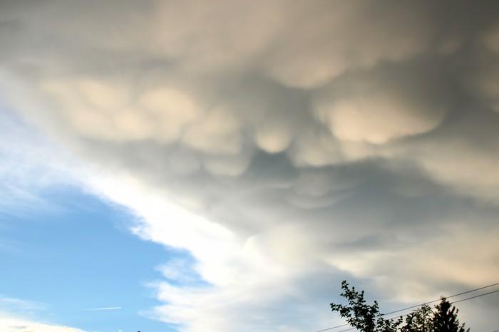 Oblaky mamma - autor: Luboš Opalecký