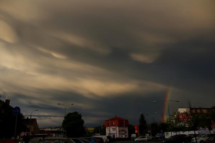 Oblaky mamma sduhou - autor: Luboš Opalecký