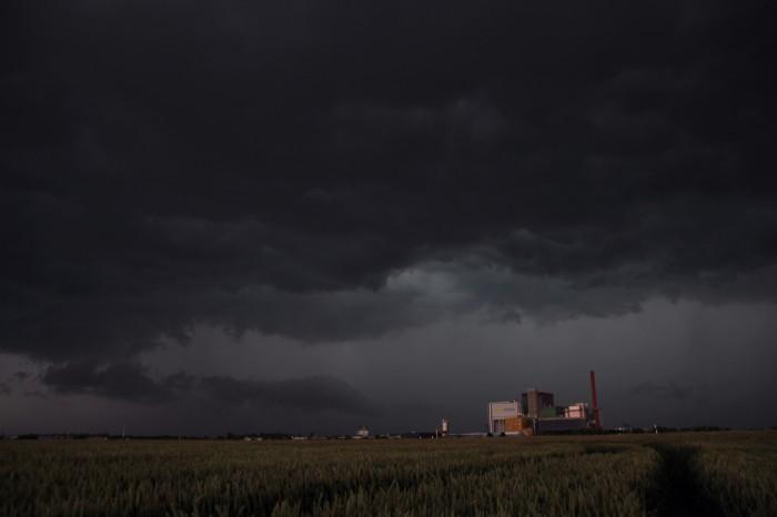 Nástup bouře 2 - autor: Luboš Opalecký
