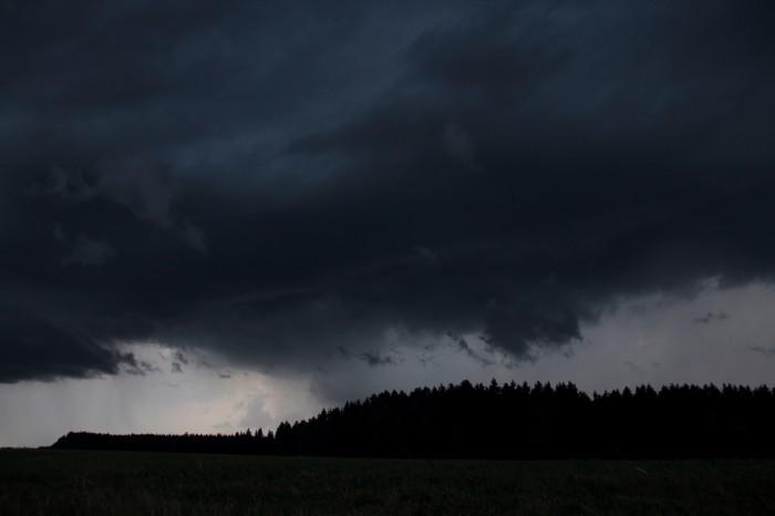 Oblast srážek - autor: Luboš Opalecký