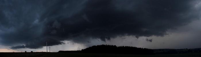 Panorama Ašské bouře - autor: Luboš Opalecký