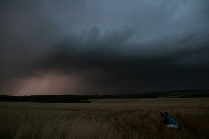 Základna bouřky - autor: Luboš Opalecký