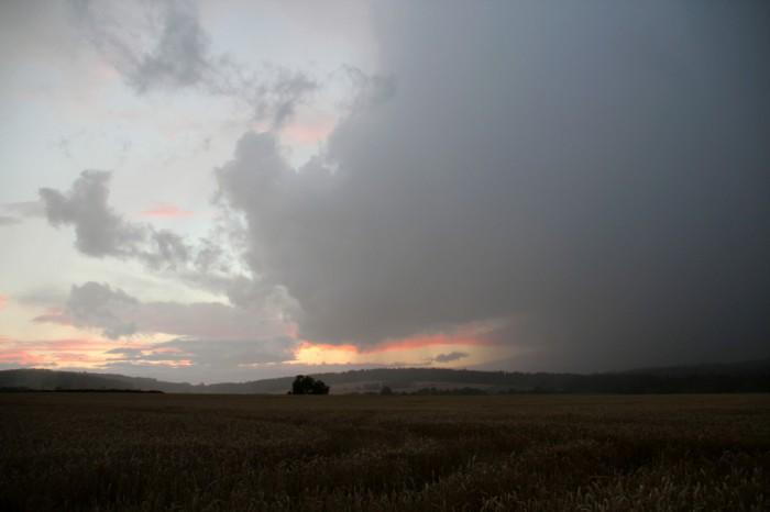 Zadní část bouřky - autor: Luboš Opalecký