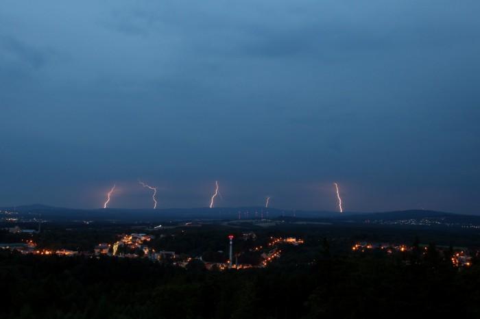 Pětice CG blesků ještě vNěmecku - autor: Luboš Opalecký