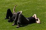 Ideální pozice na pozorování hala :-) - autor: Dagmar Müllerová