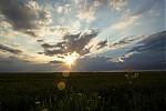 Západ Slunce uPanenského Týnce - autor: Dagmar Müllerová
