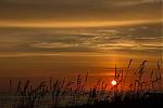 Východ Slunce shalovým sloupem - autor: Dagmar Müllerová