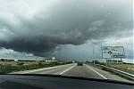 Blížící se bouřka - autor: Dagmar Müllerová