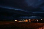 Blížící se shelf cloud - autor: