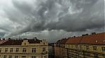 Slabý shelf cloud - autor: Dagmar Müllerová
