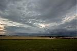 Přibližující se malá bouřka svelký shelfem - autor: Dagmar Müllerová