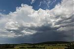 Odcházející bouřka - autor: Dagmar Müllerová