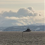 Naše ostrovní část Tromsa zdruhé strany - autor: Dagmar Müllerová