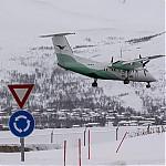 Letadlo společnosti Wideroe - autor: Dagmar Müllerová