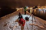 Ideální poloha pro sledování polární záře :-) - autor: Dagmar Müllerová