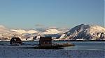 rybářské chaty vSommarøy - autor: Dagmar Müllerová