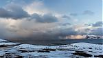 výhled na otevřené moře svydatnou sněhovou přeháňkou - autor: Dagmar Müllerová