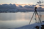Západ Slunce nad zálivem uSommarøy - autor: Dagmar Müllerová