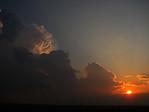 cb při západu slunce - autor: