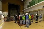 V podzemí vodní elektrárny uvýtahové šachty - autor: Dagmar Müllerová