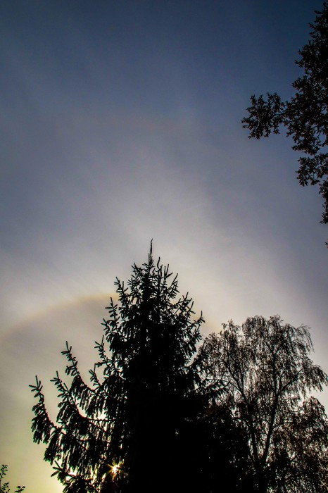 22° a slabé 46° halo + slabý cirkumzenitální oblouk - autor: Dagmar Müllerová