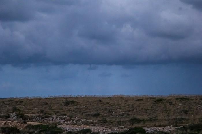 Vzdálený waterspout - autor: Dagmar Müllerová