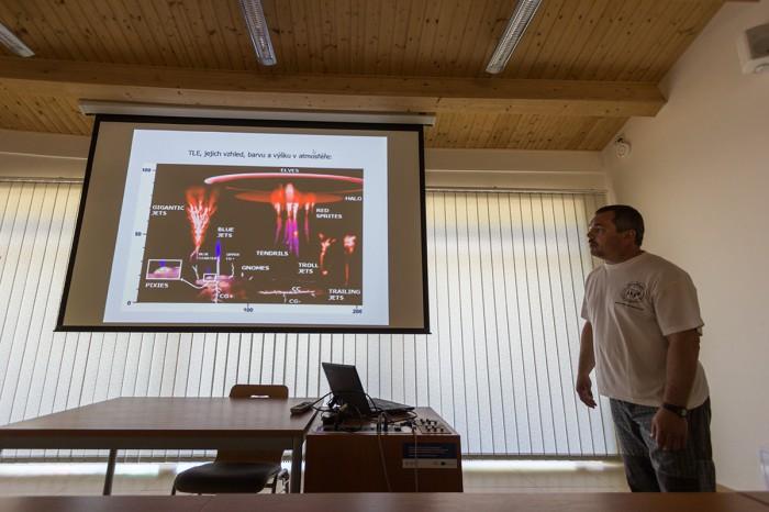Tibor Csörgei a prezentace oTLE - autor: Dagmar Müllerová