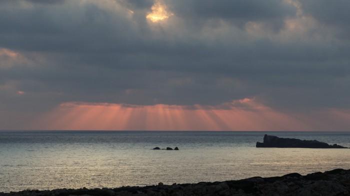 Sobotní východ Slunce - autor: Dagmar Müllerová