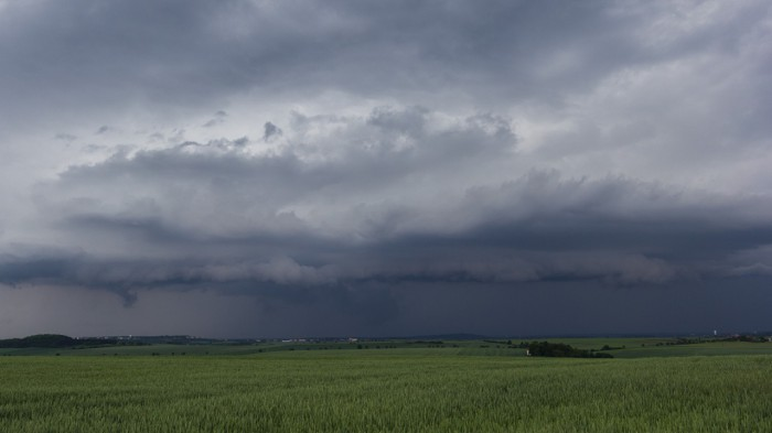 Shlef cloud od jihu - autor: Dagmar Müllerová