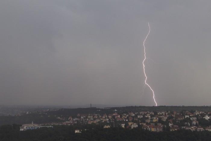 CG blesk jižně od mé pozice I. - autor: Dagmar Müllerová