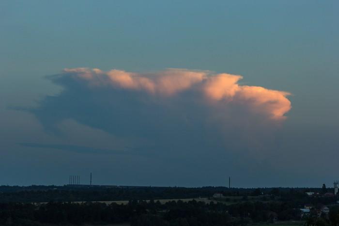 Dohasínající cumulonimbus - autor: Dagmar Müllerová