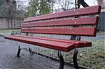 Ledovka na lavičce - autor: Lukáš Větříšek