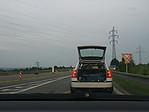 Natáčení jízdy zkufru auta :-) - autor: Tomáš Chlíbec