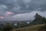 Roll cloud(?) před bouřkou - autor: Tomáš Chlíbec