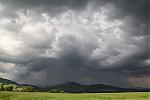 Aktivní bouřka nad Českou Lípou - autor: Tomáš Chlíbec