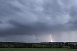 vzdálený CG na druhé bouřce večera - autor: Tomáš Chlíbec