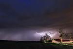CC na odcházející bouřce - autor: Tomáš Chlíbec